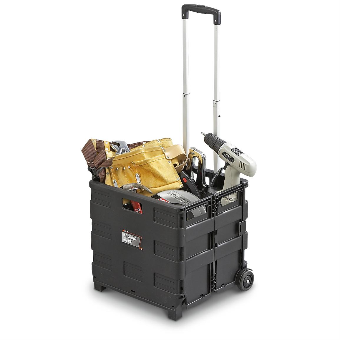 Collapsible Rolling Tool Crate