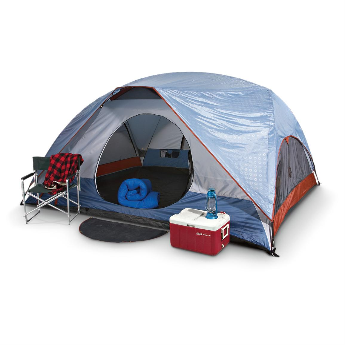 Swiss Gear® Grimsel Pass 6-person Family Dome Tent  sc 1 st  Sportsmanu0027s Guide & Swiss Gear® Grimsel Pass 6 - person Family Dome Tent - 156613 ...