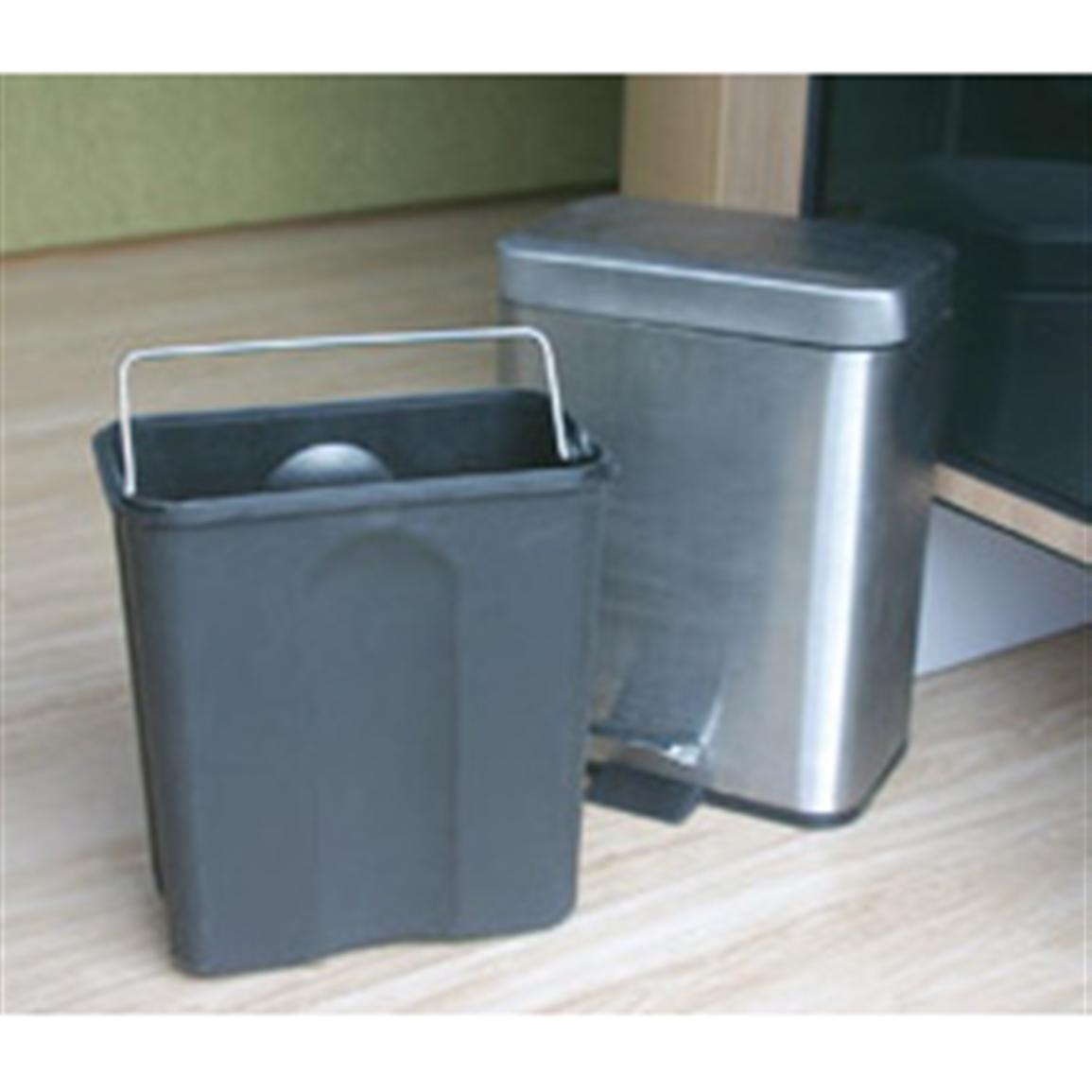 Camco® Stainless Steel Trash Can