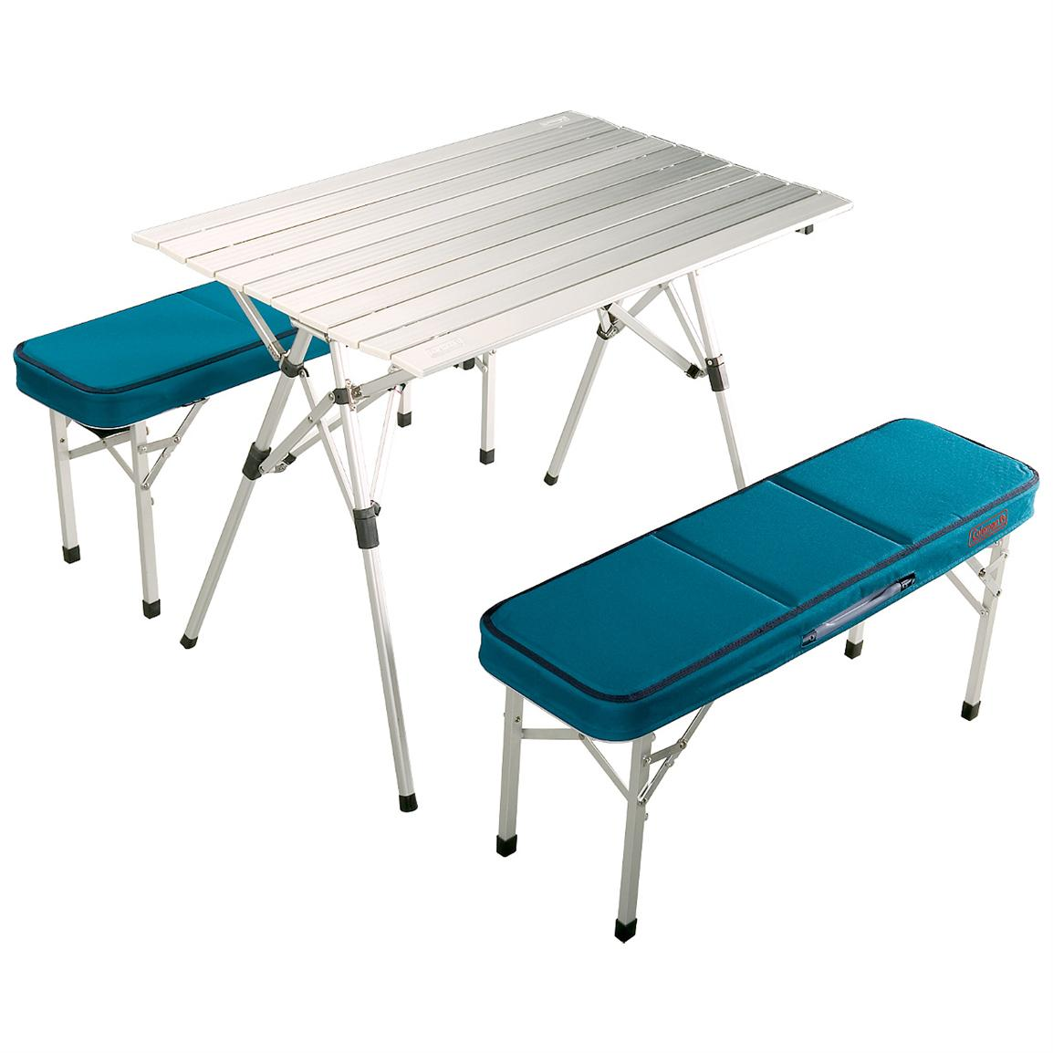 Coleman Pack Away Table Set For 4 157525 Patio