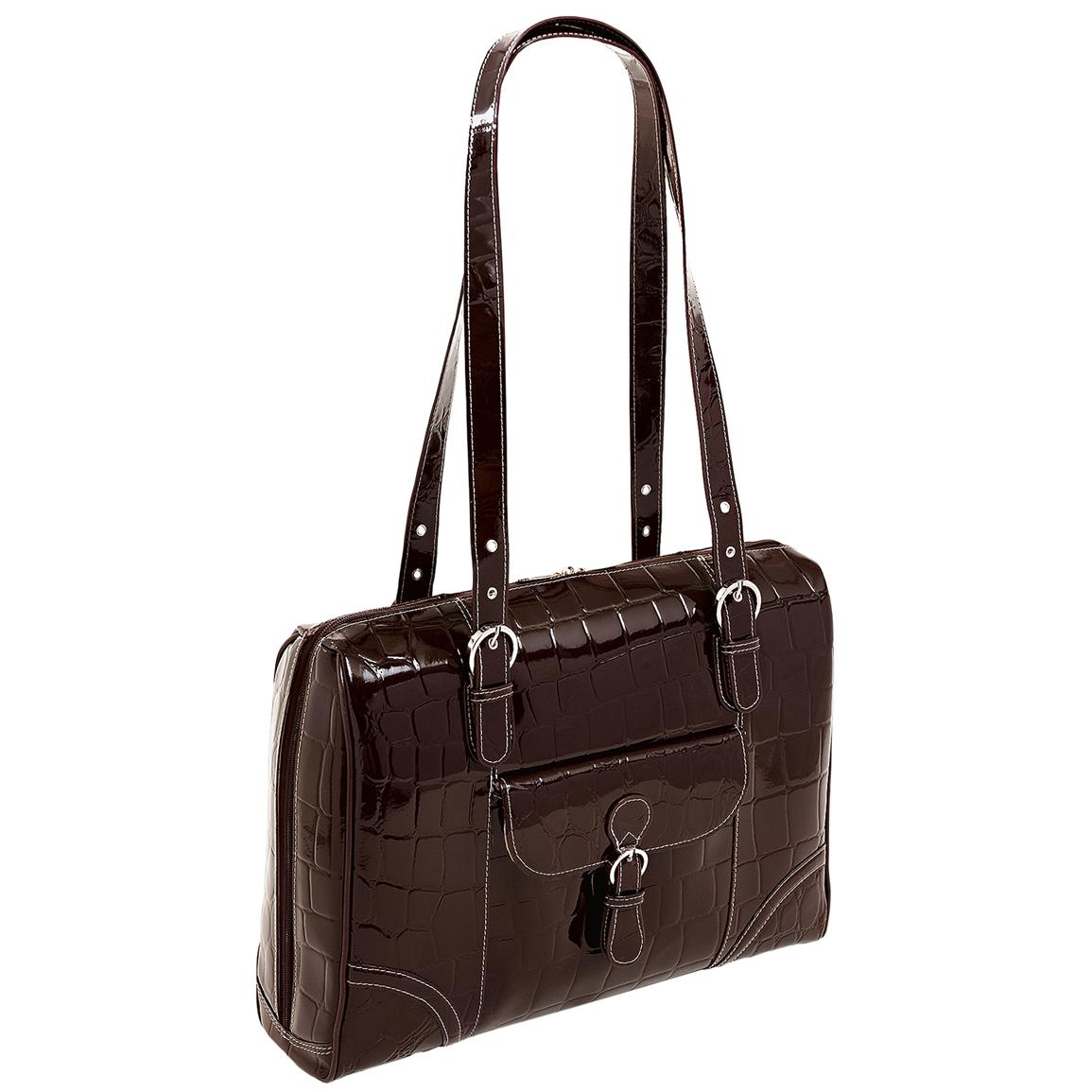 Women's Siamod® Molinelli Leather Laptop Tote