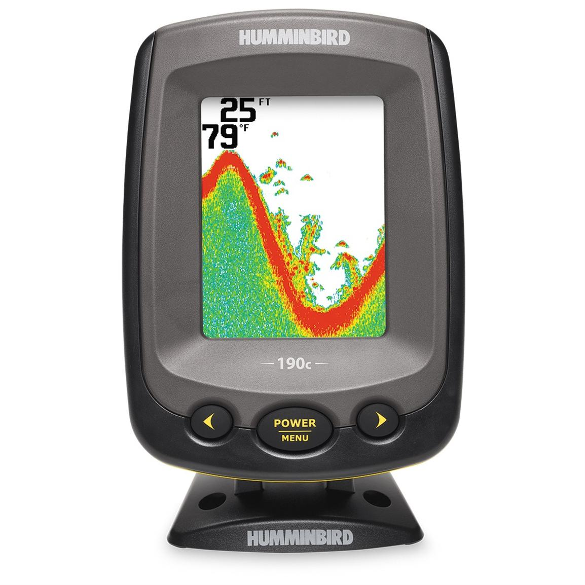 Humminbird piranhamax 190c fishfinder 158100 fish for Piranha fish finder