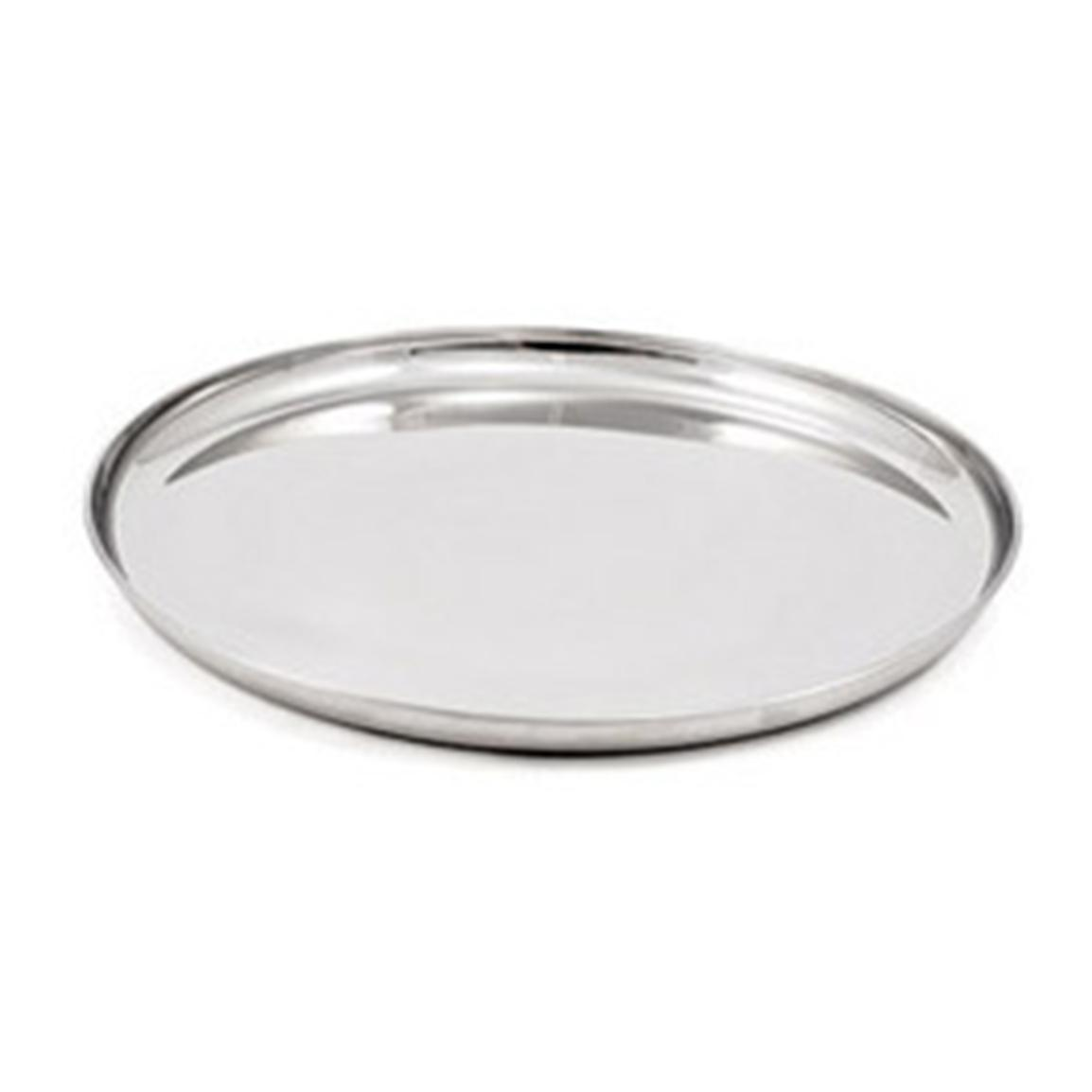 GSI Outdoors Glacier Stainless Steel Dinner Plate