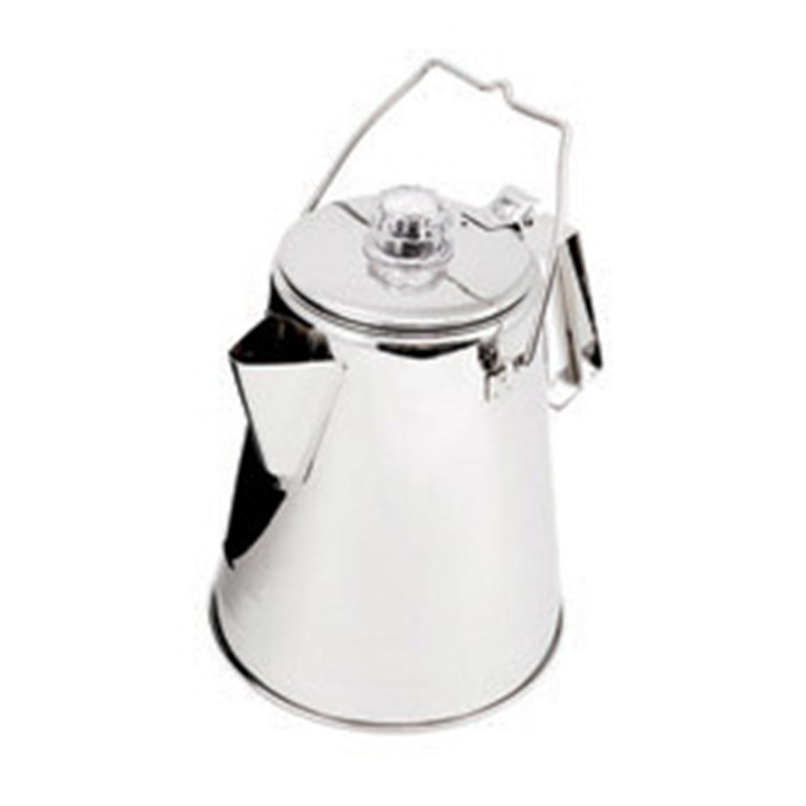 Glacier Stainless Steel Conical Percolator by GSI Outdoors