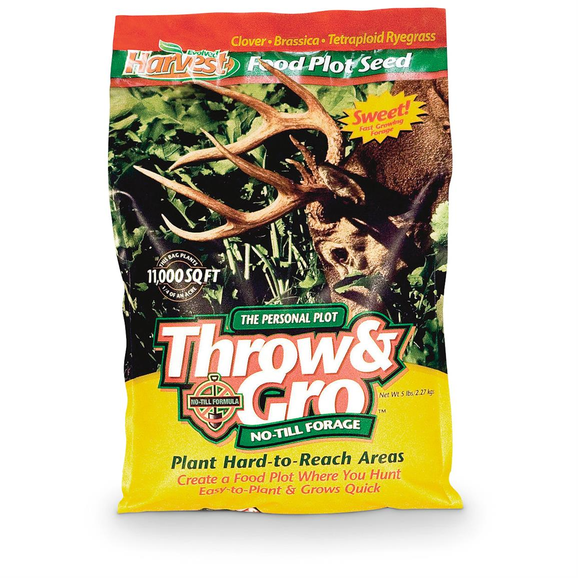 Evolved Harvest Throw & Gro No-Till Forage
