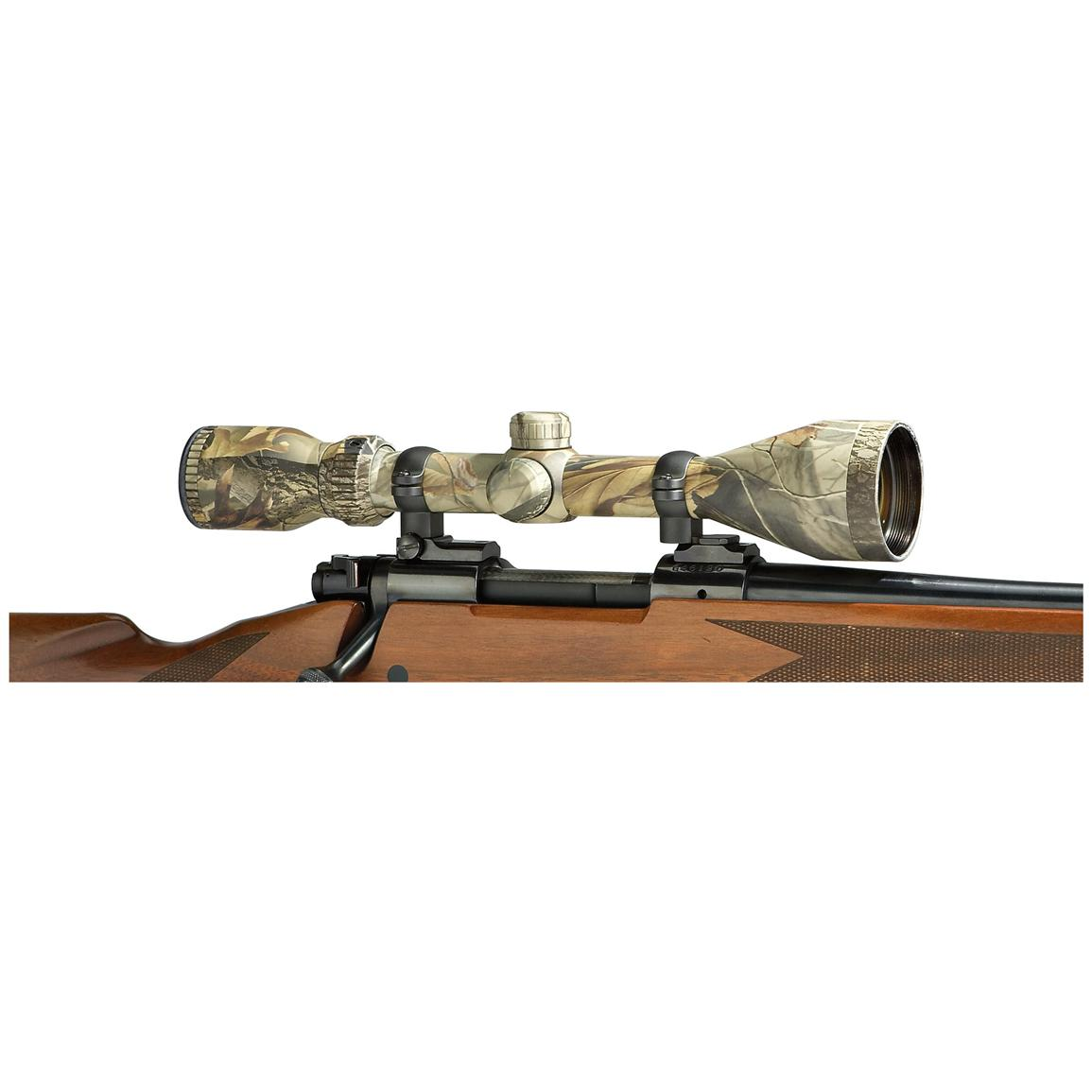 Traditions 3 9x50 Mm Circle Dot Reticle Scope Mossy