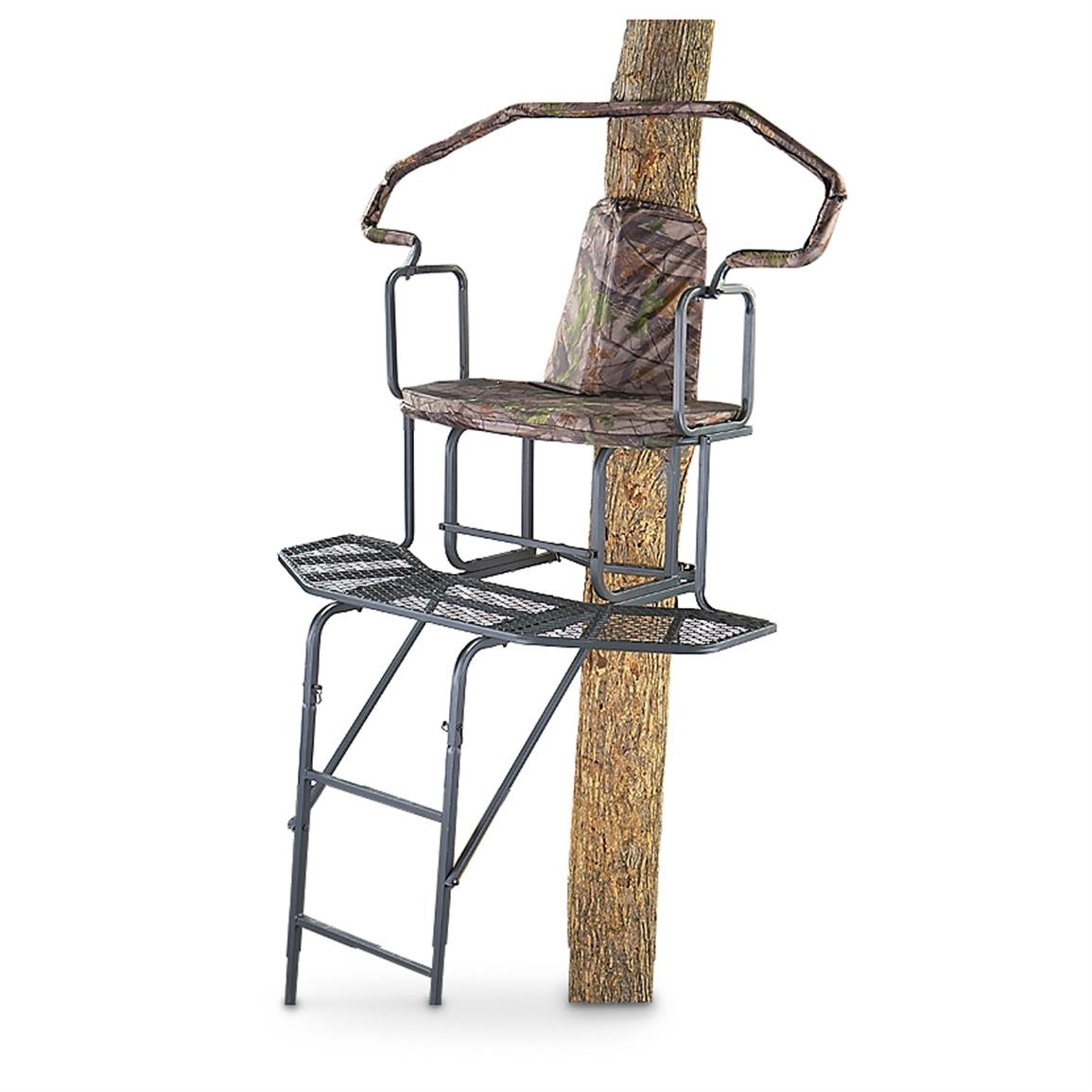 Guide Gear 2 Man 16' Wrap-a-Round Ladder Tree Stand