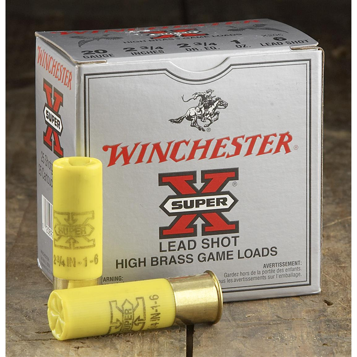 Winchester® Super-X™ High Brass Game Loads