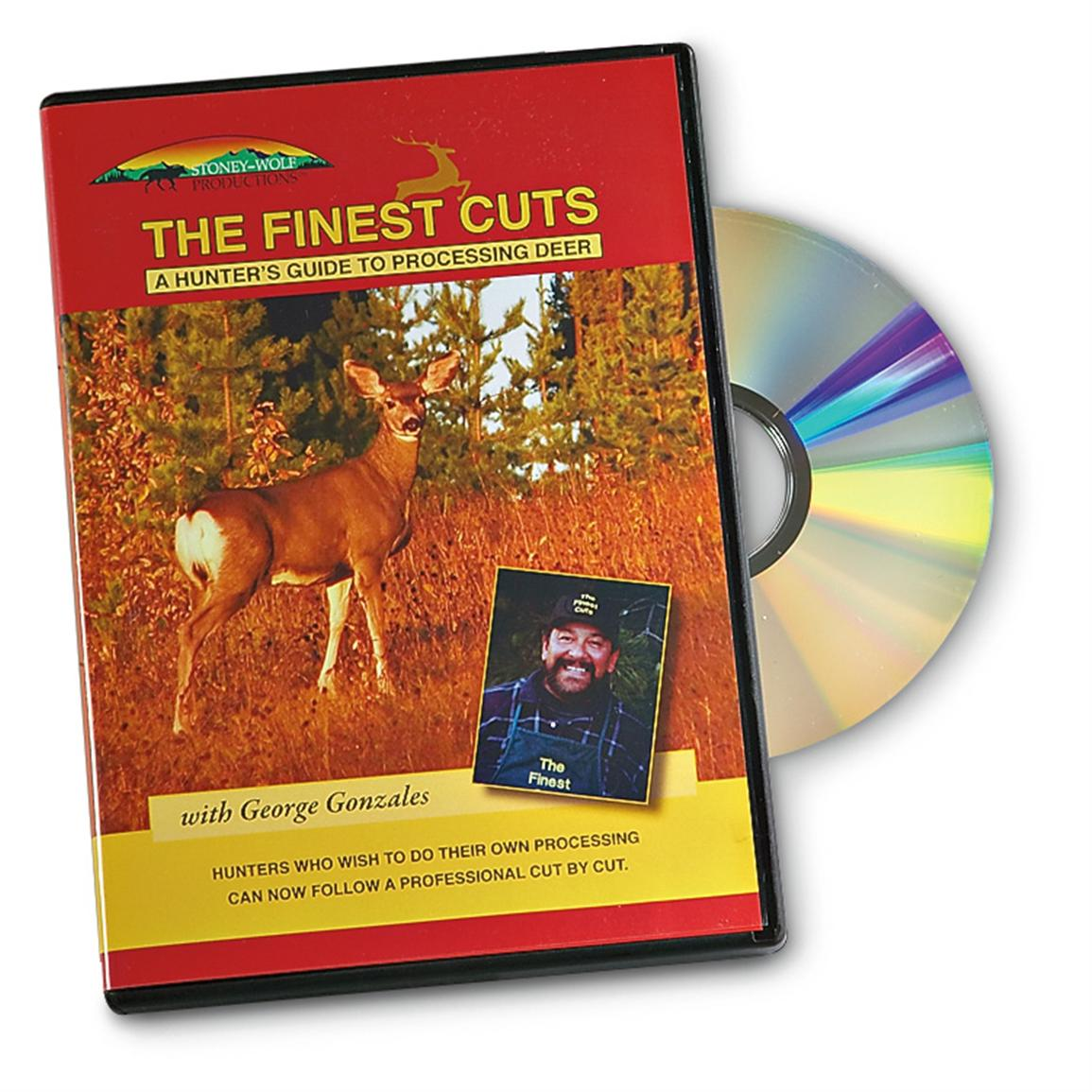 """The Finest Cuts"" Deer Processing DVD"