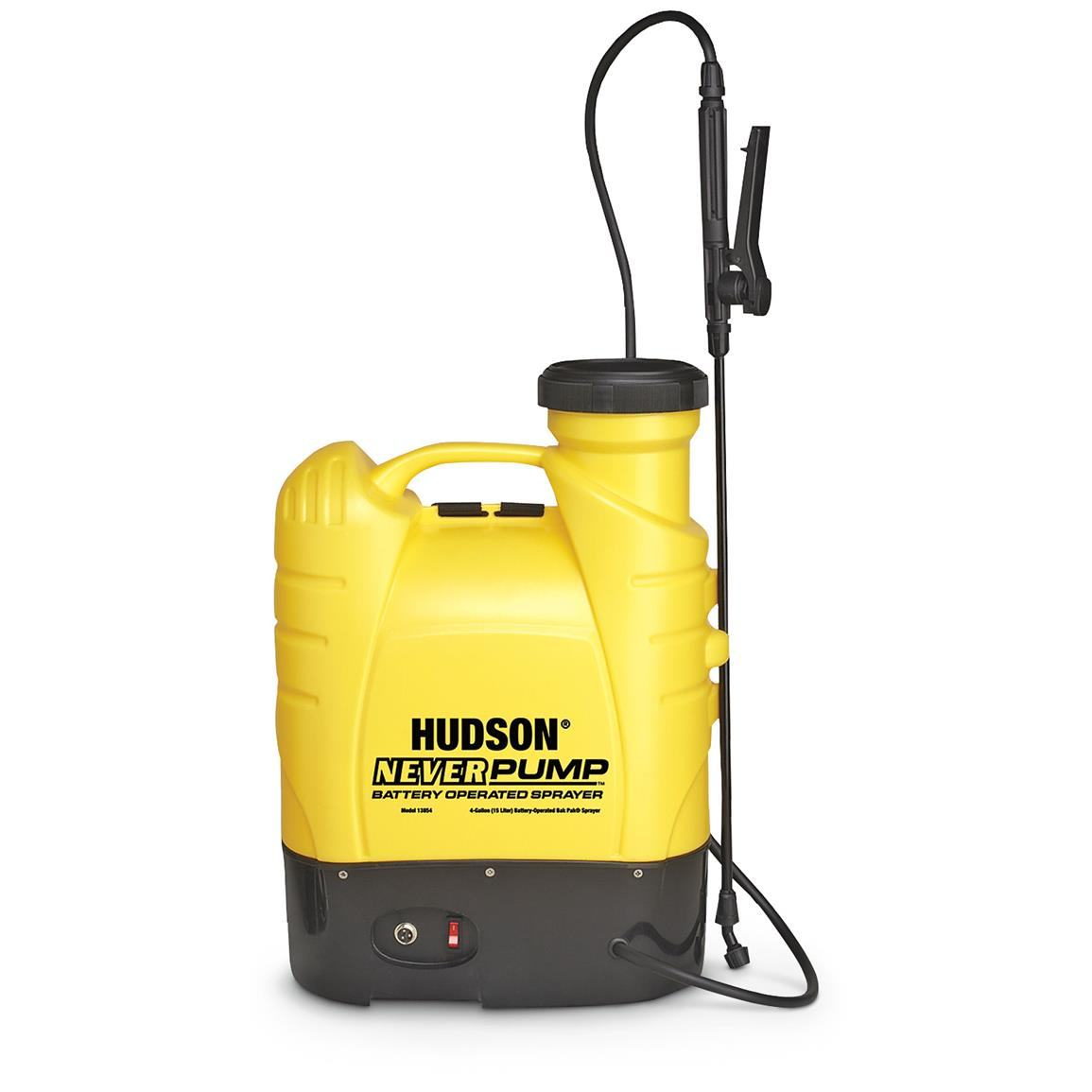 Hudson 4-gallon NeverPump Bak-Pak Sprayer