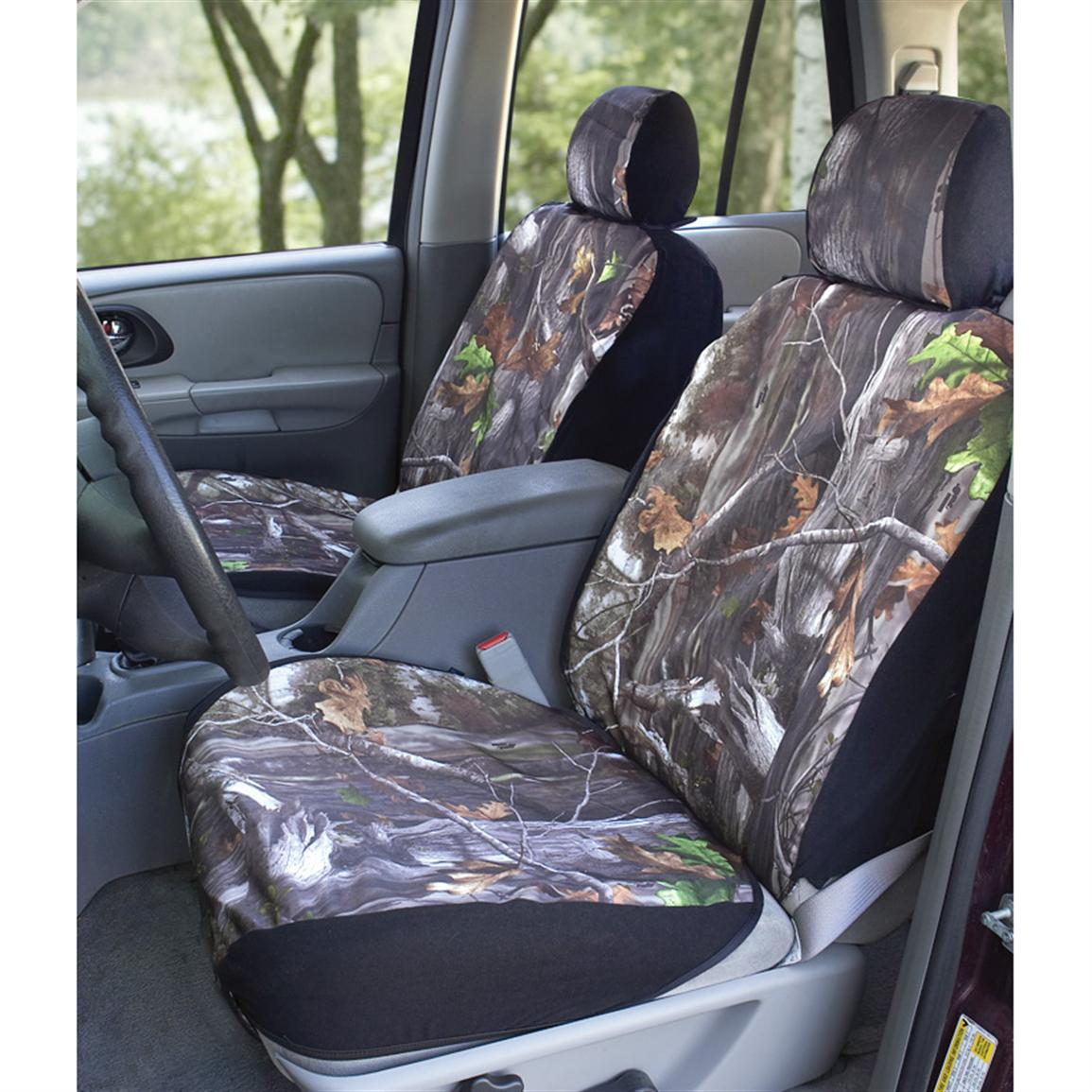 Saddleman® Max Bucket Seat Covers, Next Camo