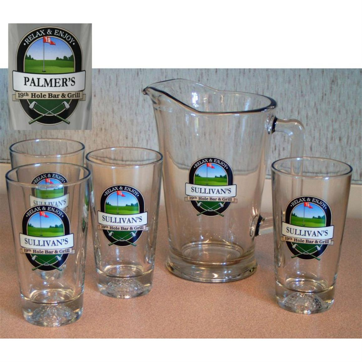 Royal Products® Personalized 19th Hole Pub Set