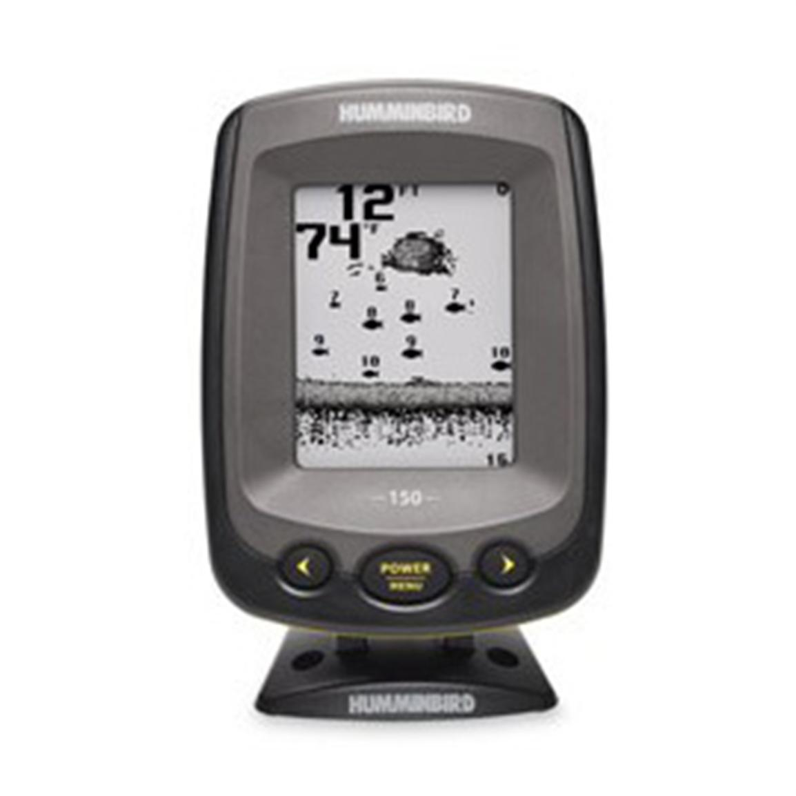 Humminbird piranhamax 150 fishfinder portable 162567 for Piranha fish finder