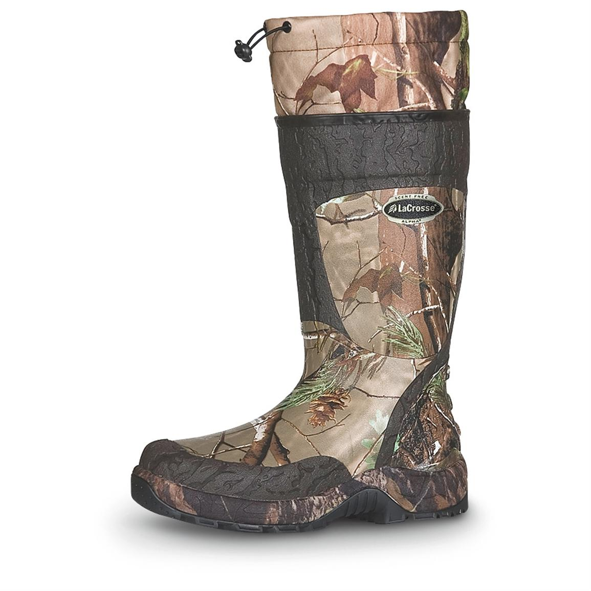 Men's LaCrosse® Alpha SST™ Hunting Boots, Realtree APG™