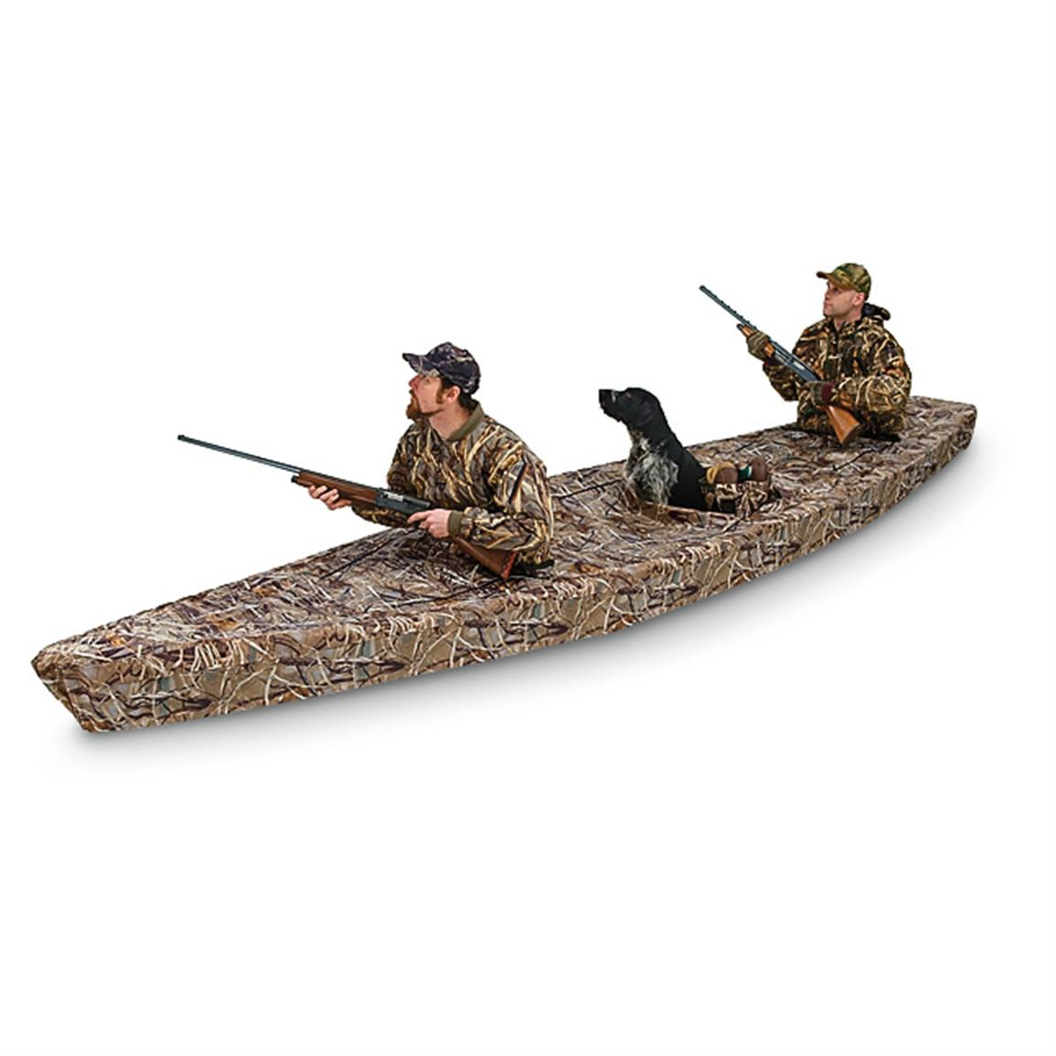 Deluxe Canoe Cover Blind 163689 Boat Covers At