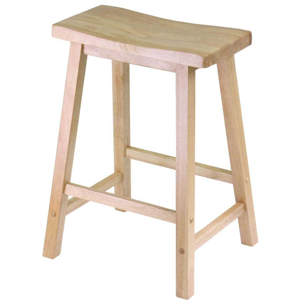 24 inch Winsome Saddle Seat Stool
