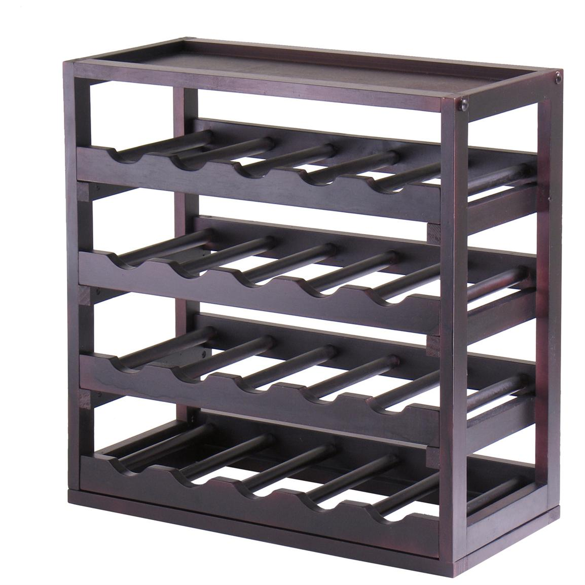 Winsome® Kingston Stackable 4-Tray Wine Cubby