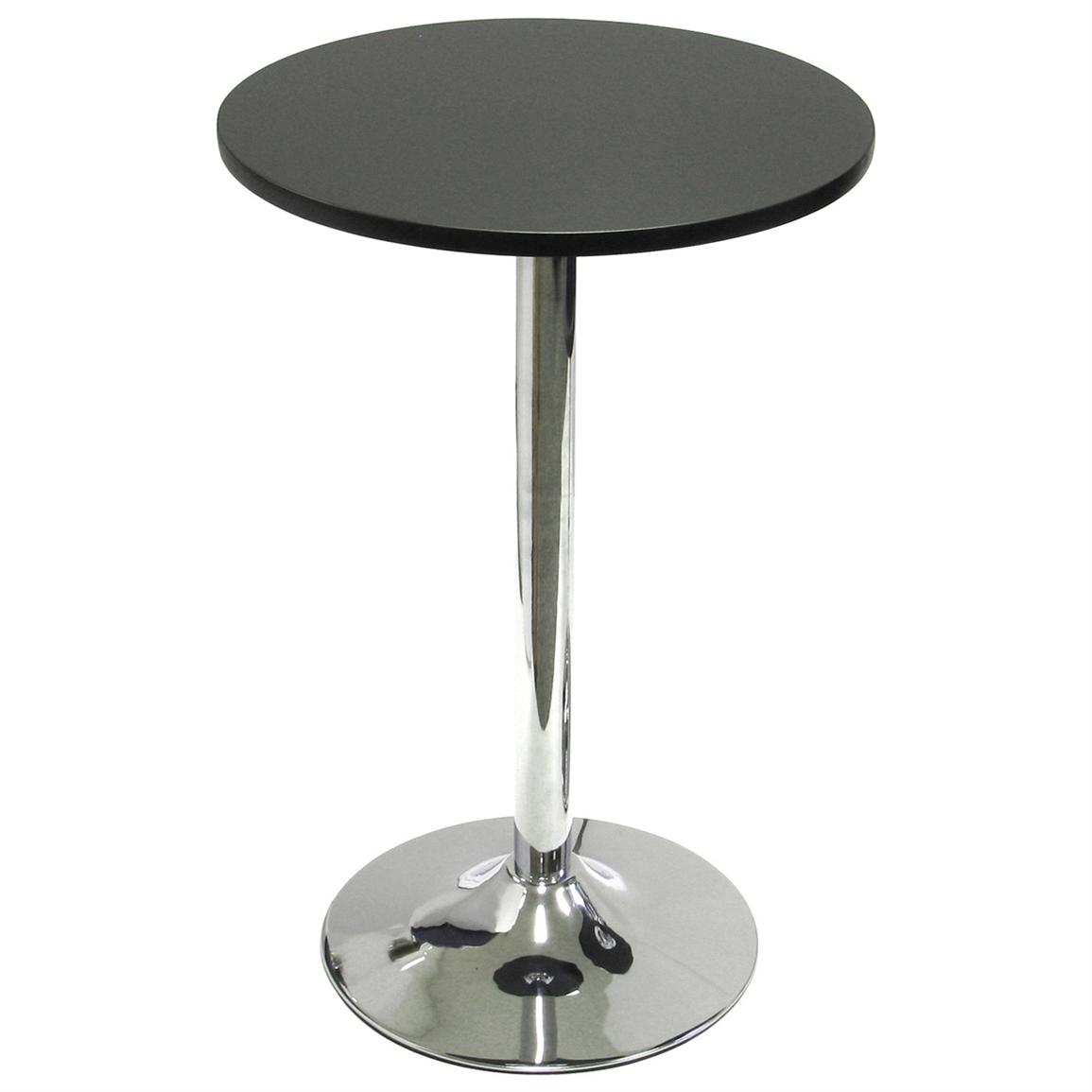 20 inch Winsome Bistro Table, Black / Metal