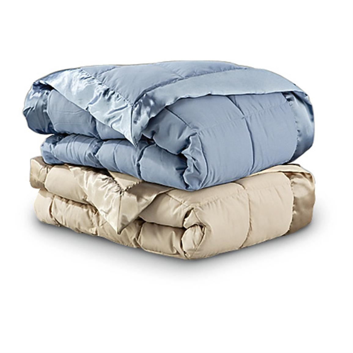 Microfiber Down And Feather Blanket 164127 Blankets