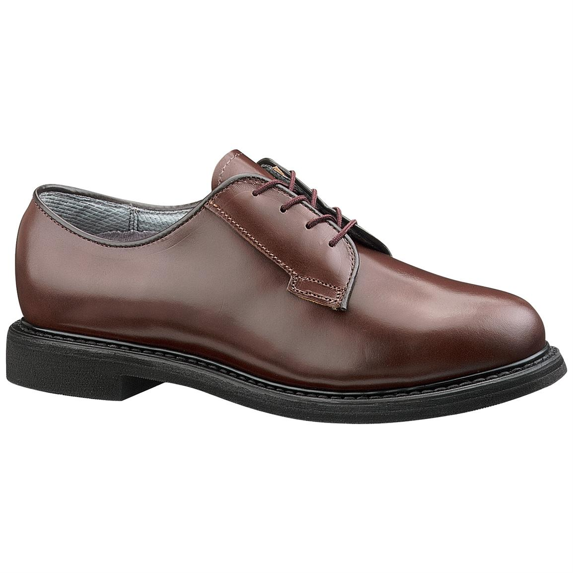 Women's Bates® Lites™ Brown Leather Oxford