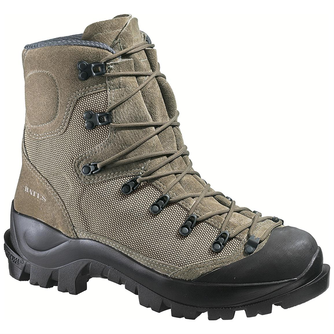 "Bates Men's Tora Bora 9"" Waterproof Insulated Alpine Combat Boots, 200 Gram, Sage"
