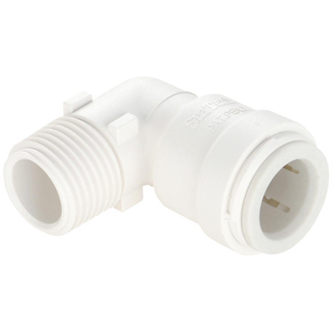 "Sea Tech® Male Elbow Connector, 1/2"" CTS to 1/2"" NPT"