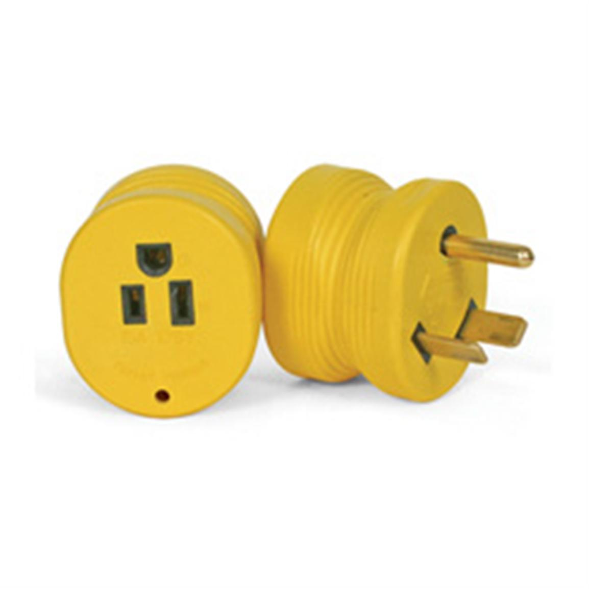 Camco® 30-Amp-Male-to-15-Amp-Female Adapter