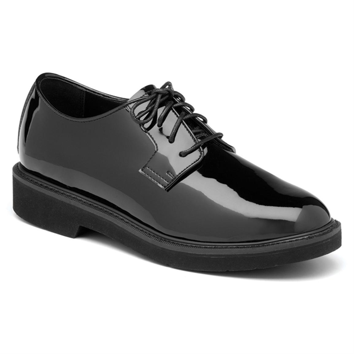 Men's Rocky® High Gloss Leather Dress Oxford Shoes