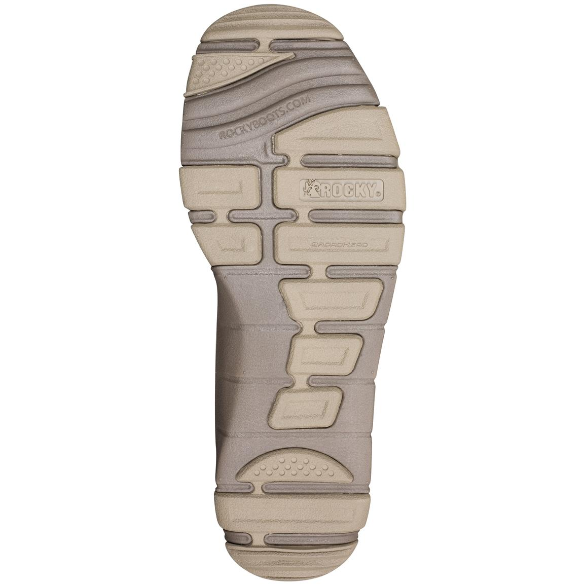 Ultra light and flexible BroadHead EVA outsole for traction