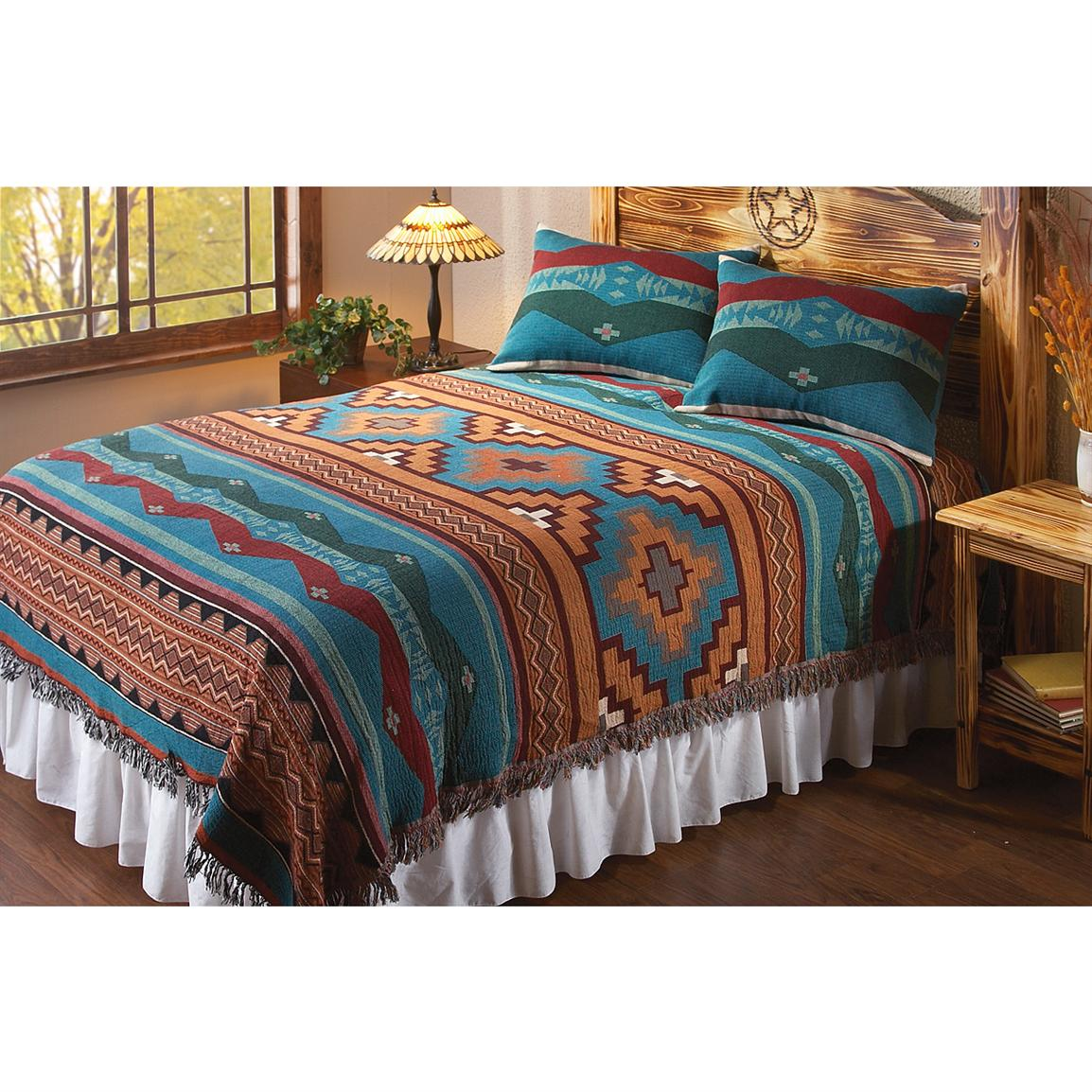 River Canyon Southwest Coverlet 166717 Quilts At