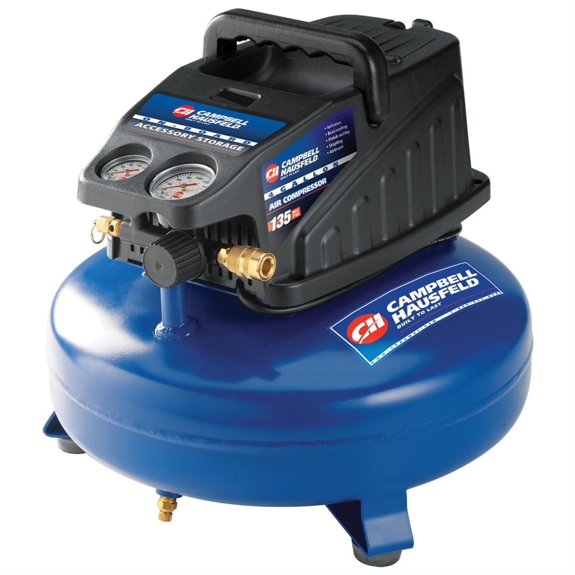 Campbell Hausfeld® 4-gallon Pancake Air Compressor