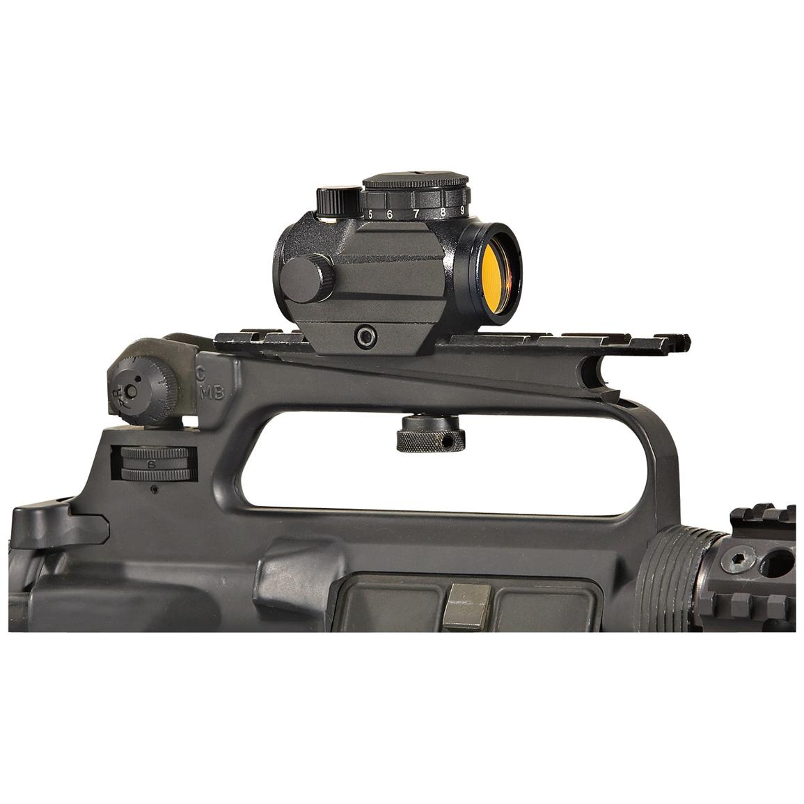 FM Optics™ 1X Mini Micro Red Dot Sight, Matte Black