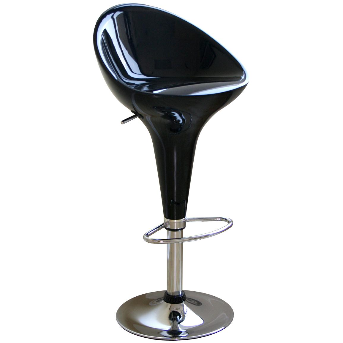 Wholesale Interiors® Kappa Stool, Black