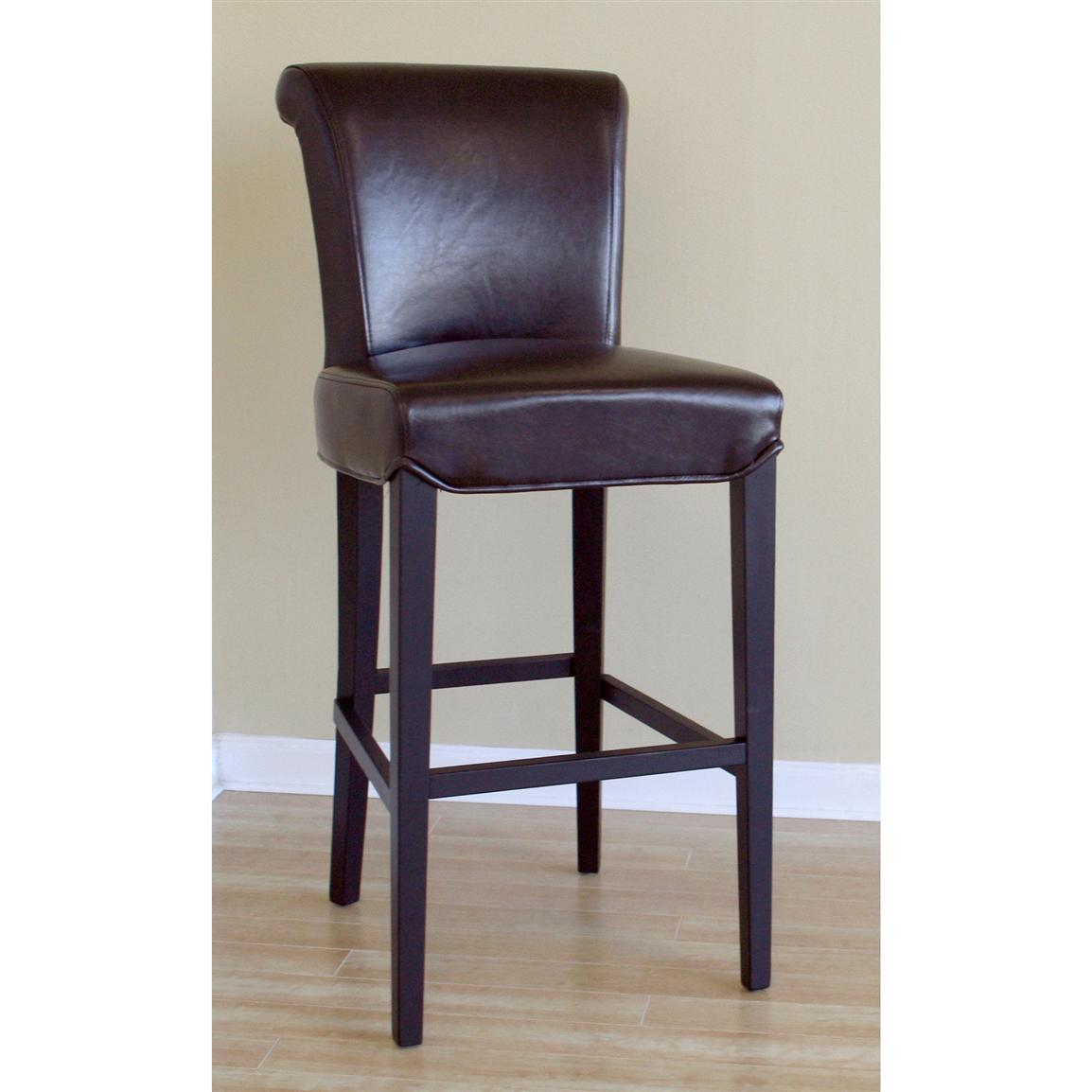 Soft Dark Brown Stool Saymixe