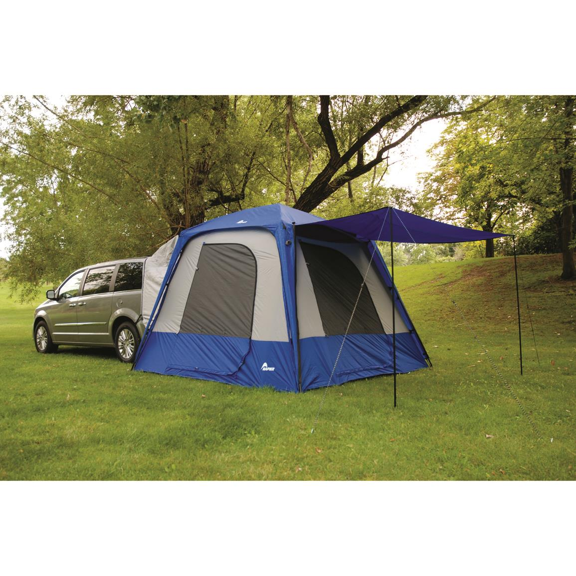 Large 6u0027 awning  sc 1 st  Sportsmanu0027s Guide & Napier Sportz SUV Tent with Screen Room - 168370 Truck Tents at ...