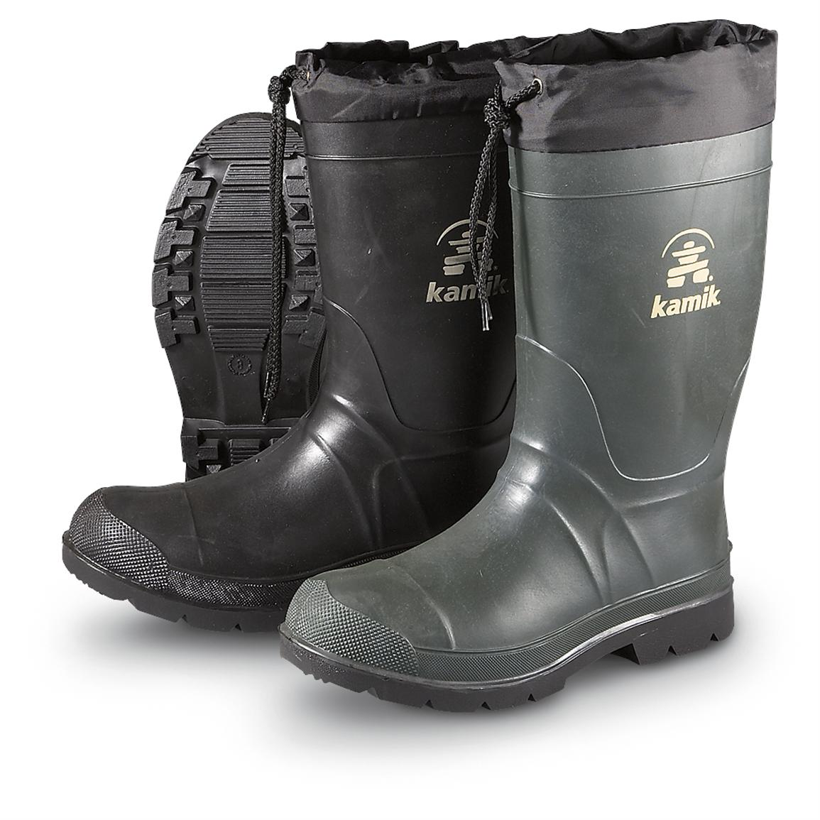 Men's Kamik® Insulated Rubber Hunter Boots