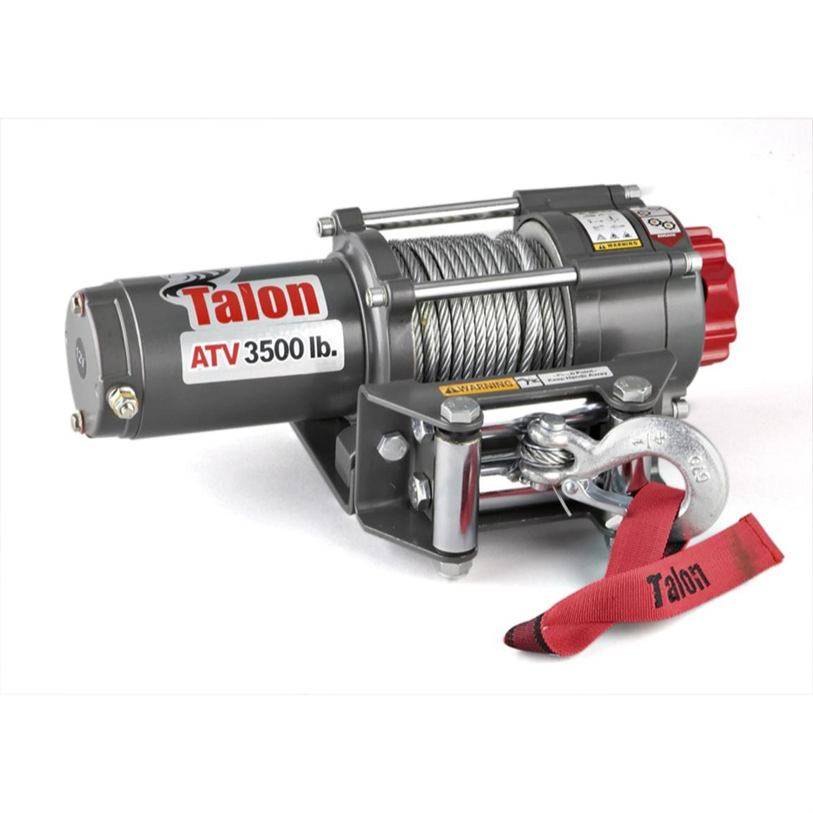 3,500-lb. Talon® ATV Winch with Rocker Switch