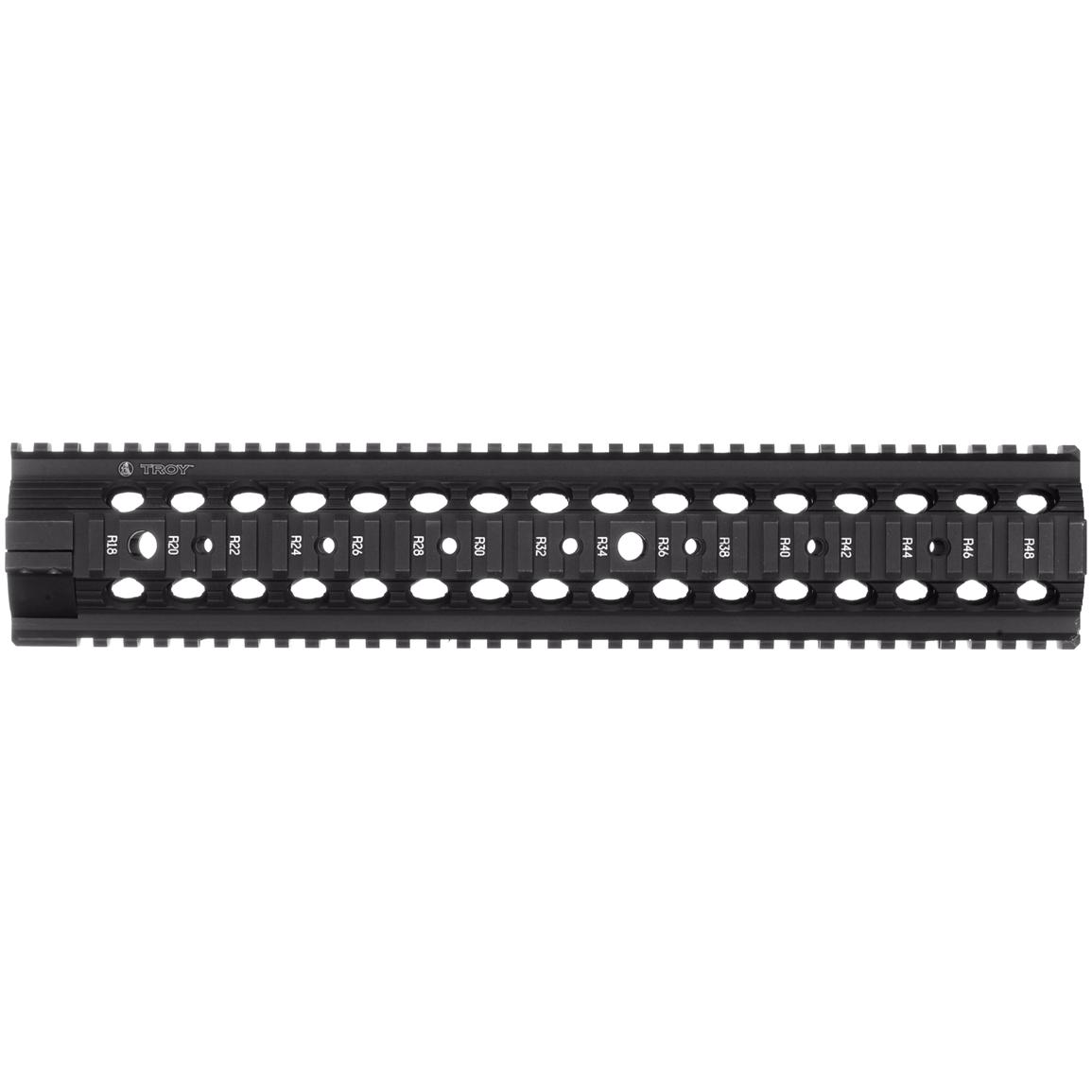"Troy™ 10"" MRF-MX Battle Rail with Low Profile Gas Block"