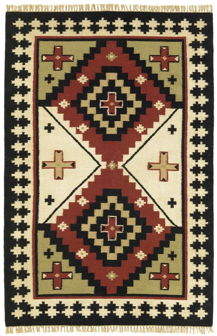 Hand-woven Sancho Flat Weave Rug