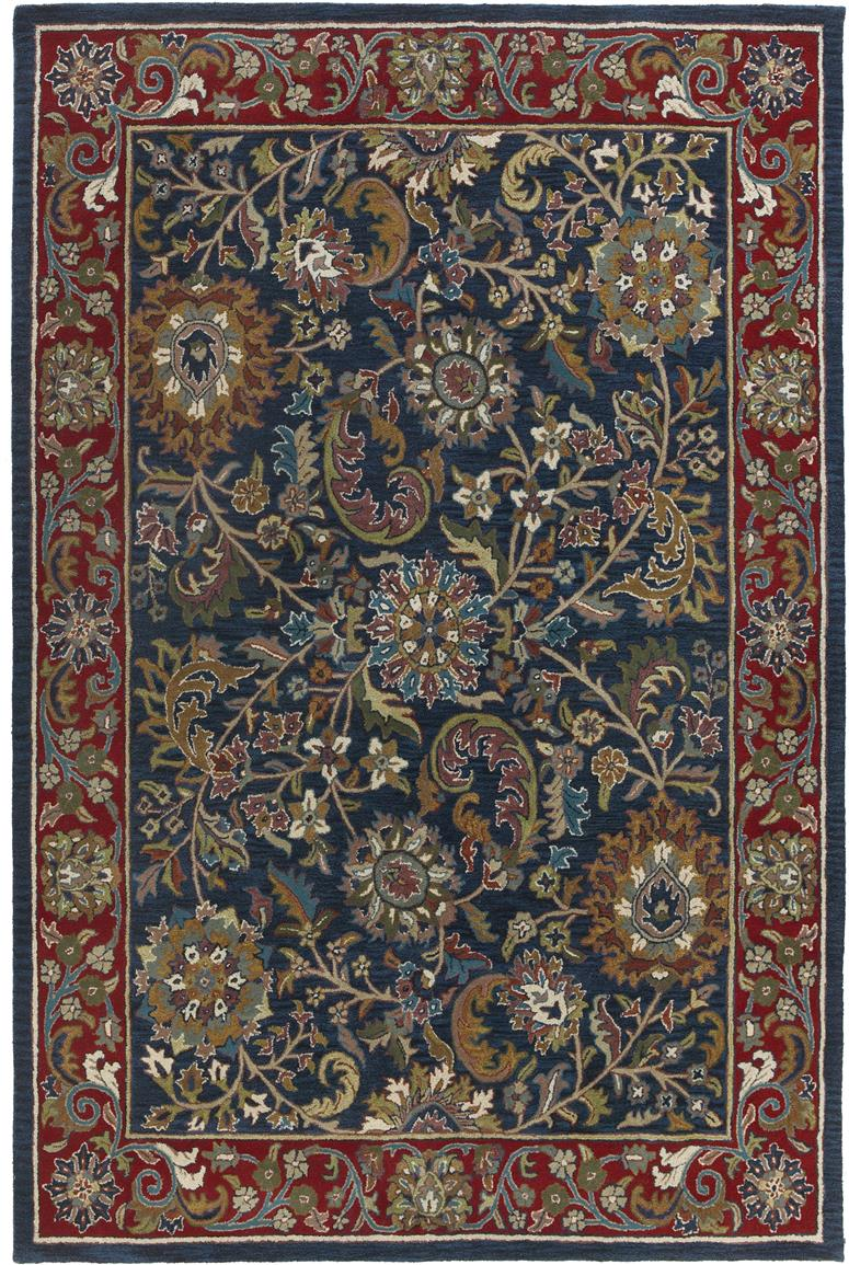 St. Croix Trading Hand-Made Wool Kashan Rug