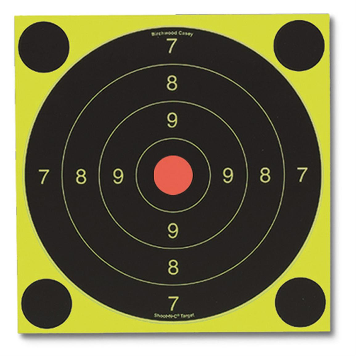 Birchwood Casey® Shoot-N-C® Self-Adhesive 25 / 50m International Targets
