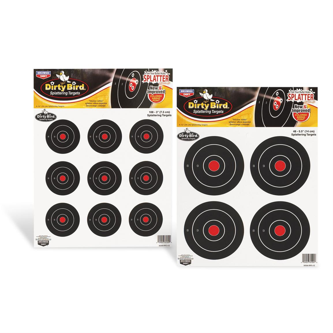 Dirty Bird® Splattering Targets