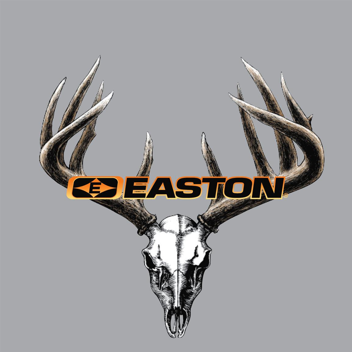 Easton® Skull and Rack Window Decal