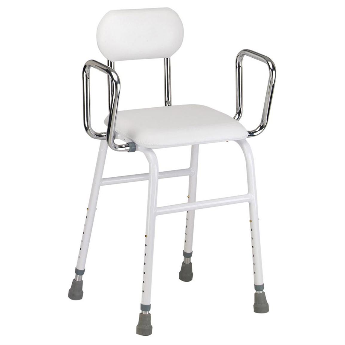 All Purpose Stool with Adjustable Arms