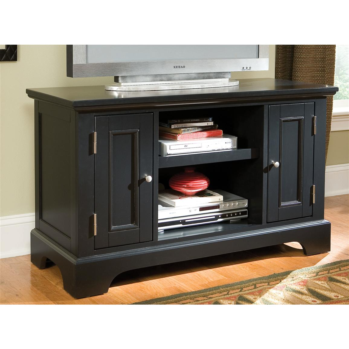 Home Styles™ Bedford TV Stand, Ebony