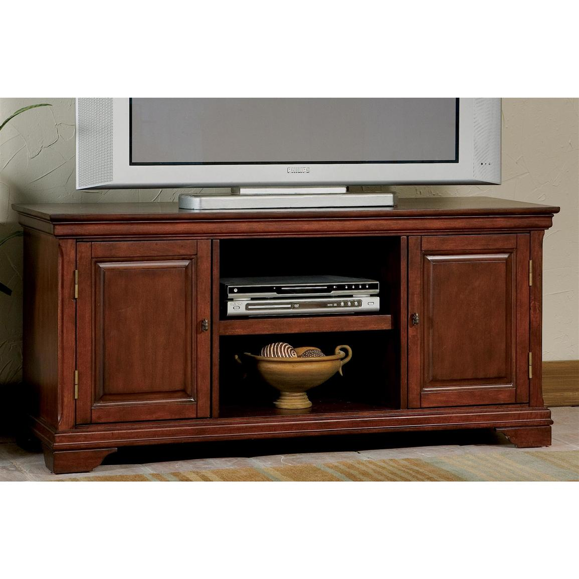 Home Styles™ Lafayette TV Stand, Cherry