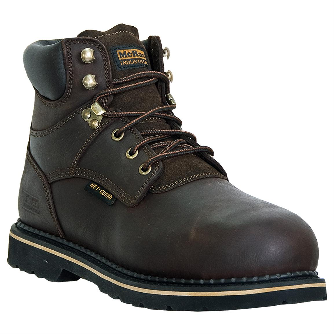 Men's McRae Industrial® Safety Toe Internal Met-guard Lace-up Work Boots