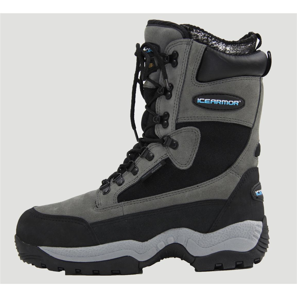 Women's and Youth Boys Clam™ 1,000 grams of Thinsulate™ Ultra Insulation Ice Armor™ Boots