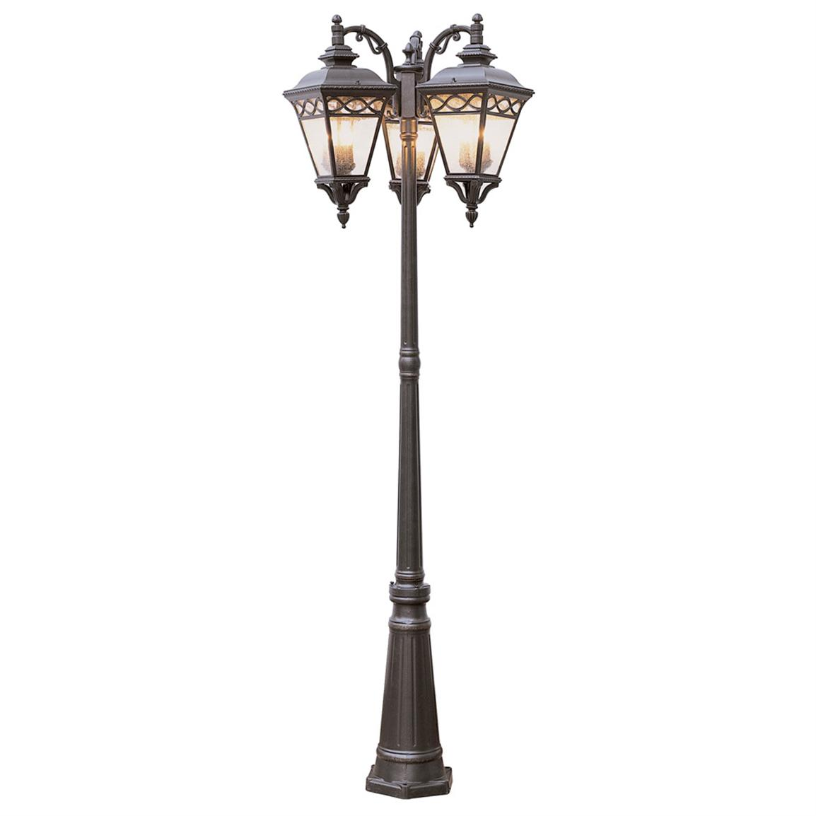... Outdoor Burnished Bronze Pole Light. Click To Zoom