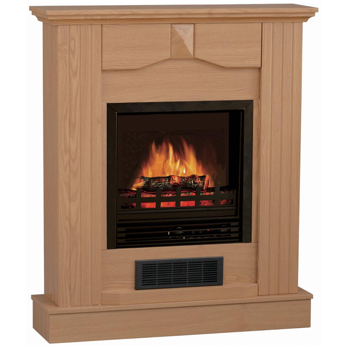 Stonegate® Electric Fireplace with Mantle